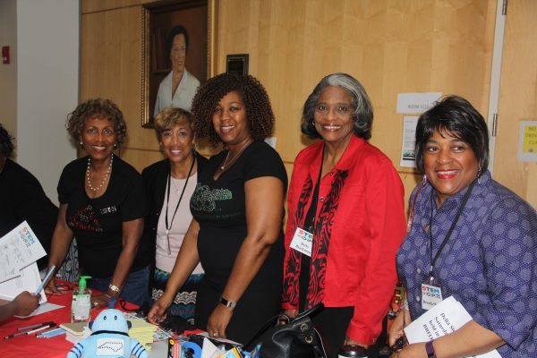 Sandra White-Olden, Victoria Thornton, Claudia Curtis, Betty Blackmon, Brenda Shaw
